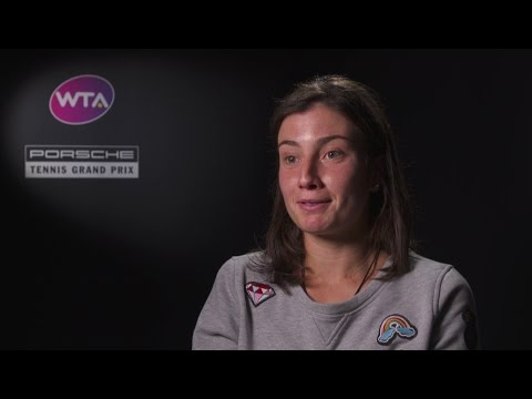 Interview Anastasija Sevastova (LAT) - Porsche Tennis Grand Prix 2017