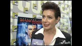 Sean Young - Blade Runner Interview (Comic-Con 2007)