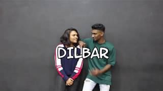 DILBAR DILBAR | STEP 'N' MOVE DANCE ACADEMY | A SANTHOSH AROCKIARAJ CHOREOGRAPHY | SIRI GOWRI