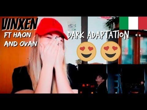 Italian react to VINXEN(빈첸) _ Dark Adaptation(암순응) (Feat. OVAN(오반), HAON) [ENG SUB]