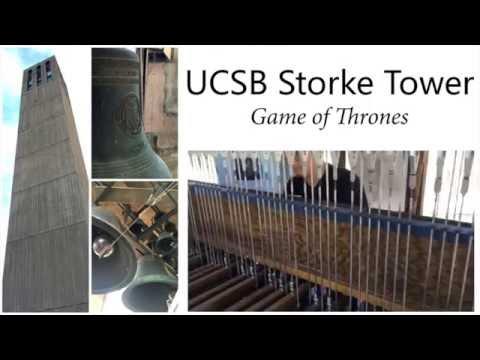 Game of Thrones on UC Santa Barbara's carillon