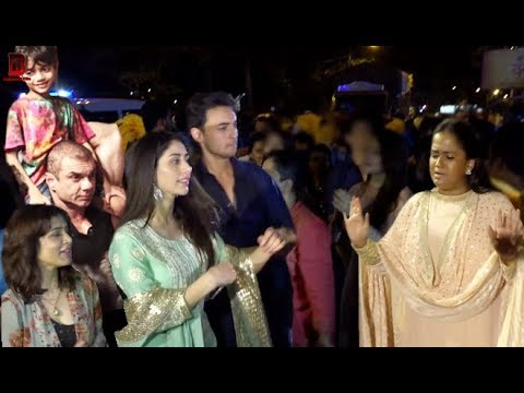 Salman Khan's Family With Arpita Khan & Aayush Sharma For Ganpati Visharjan At Galaxy Apartment Mp3