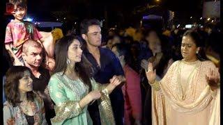 Salman Khan's Family With Arpita Khan & Aayush Sharma For Ganpati Visharjan At Galaxy Apartment