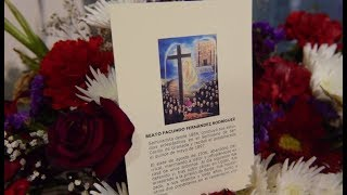 Entrega de reliquias del beato mártir Facundo Fernández, en Torvizcón