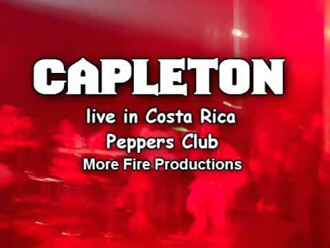 CAPLETON live in Costa Rica Pepper's Club Dj Acon The Veteran Feat Jahricio