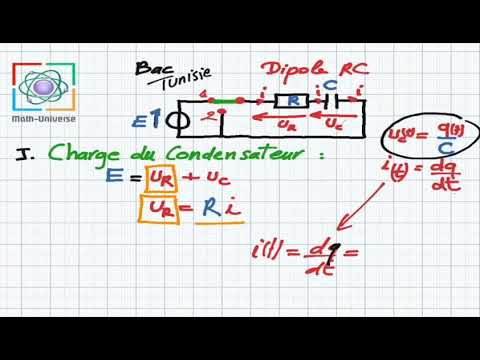Dipole Rc Bac Charge Du Condensateur Partie1 Youtube