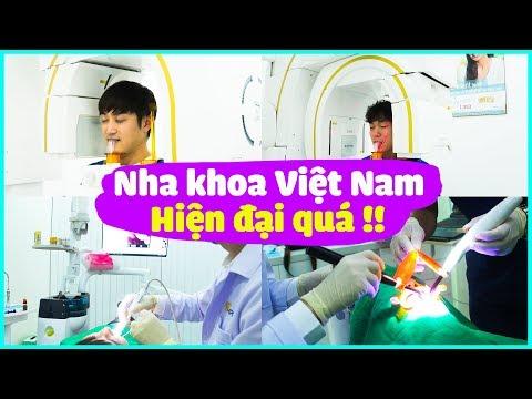 Trời ơi.. Nha khoa ở Việt Nam hiện đại quá!! | Lần đầu đi khám răng tại Việt Nam