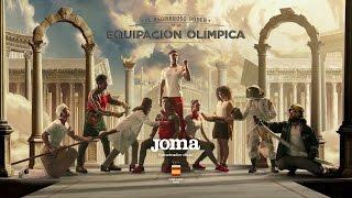 Joma, patrocinador del COE, presenta: El asombroso poder de la equipación olímpica.