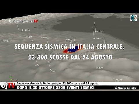 Sequenza sismica in Italia centrale, 23.300 scosse dal 24 agosto