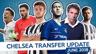 ZOLA x RUGANI x HAZARD - CHELSEA TRANSFER UPDATE - JUNE 2018 (Part 2)