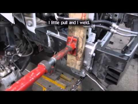 VW Jetta. The front body repair. Ремонт переда.