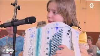 CAPRICE POLKA Madlyn  10 ans – Madlyn Accordion  Madlyn Music  – Enfant accordéon – Accordéon enfant