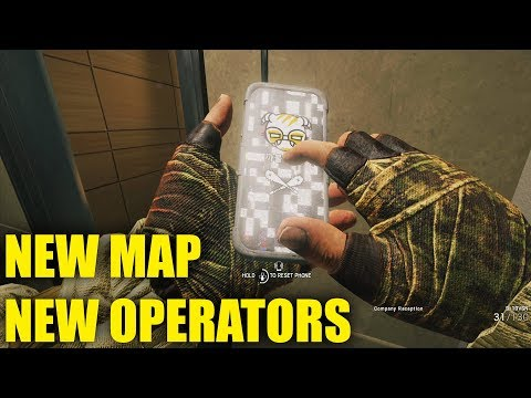 PLAYING OPERATION WHITE NOISE EARLY! - Rainbow Six Siege