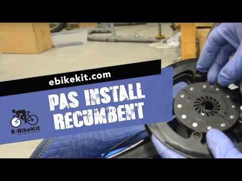 E-BikeKit - installing (optional) ring-type Bottom-bracket Mount PAS Sensor (Ex: Eco-Tad)