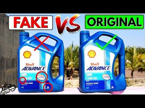 SHELL Engine Oil ORIGINAL VS FAKE || Duplicate Engine Oil