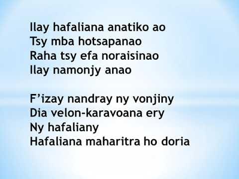 Ilay hafaliana - Ndriana Ramamonjy