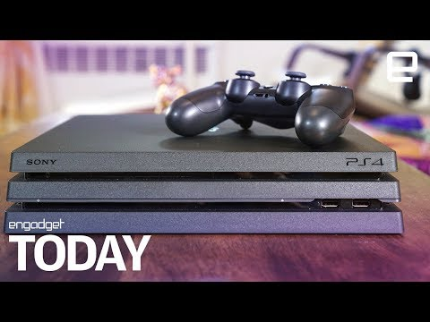 Sony sneaks out a quieter PS4 Pro   Engadget Today