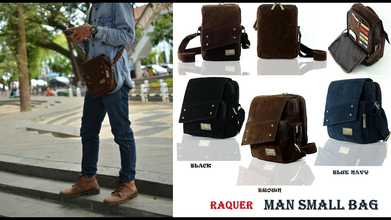 Raquer Man Small Bag Sling Gadget Organizer Travel Multifungsi
