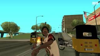 Grand Theft Auto San Andreas - Kabali Telugu Trailer Remix
