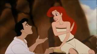 The Little Mermaid - Eric finds Ariel on the beach [Finnish 1998]