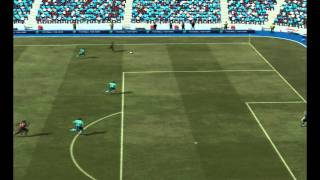 FIFA 12 demo lack of weight/inertia
