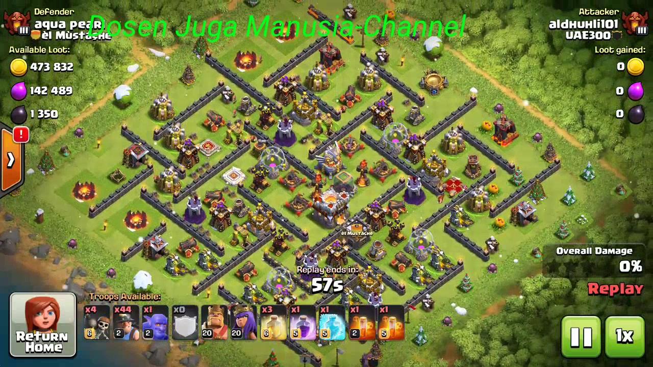 Maze Coc Th11 Farming Base 3