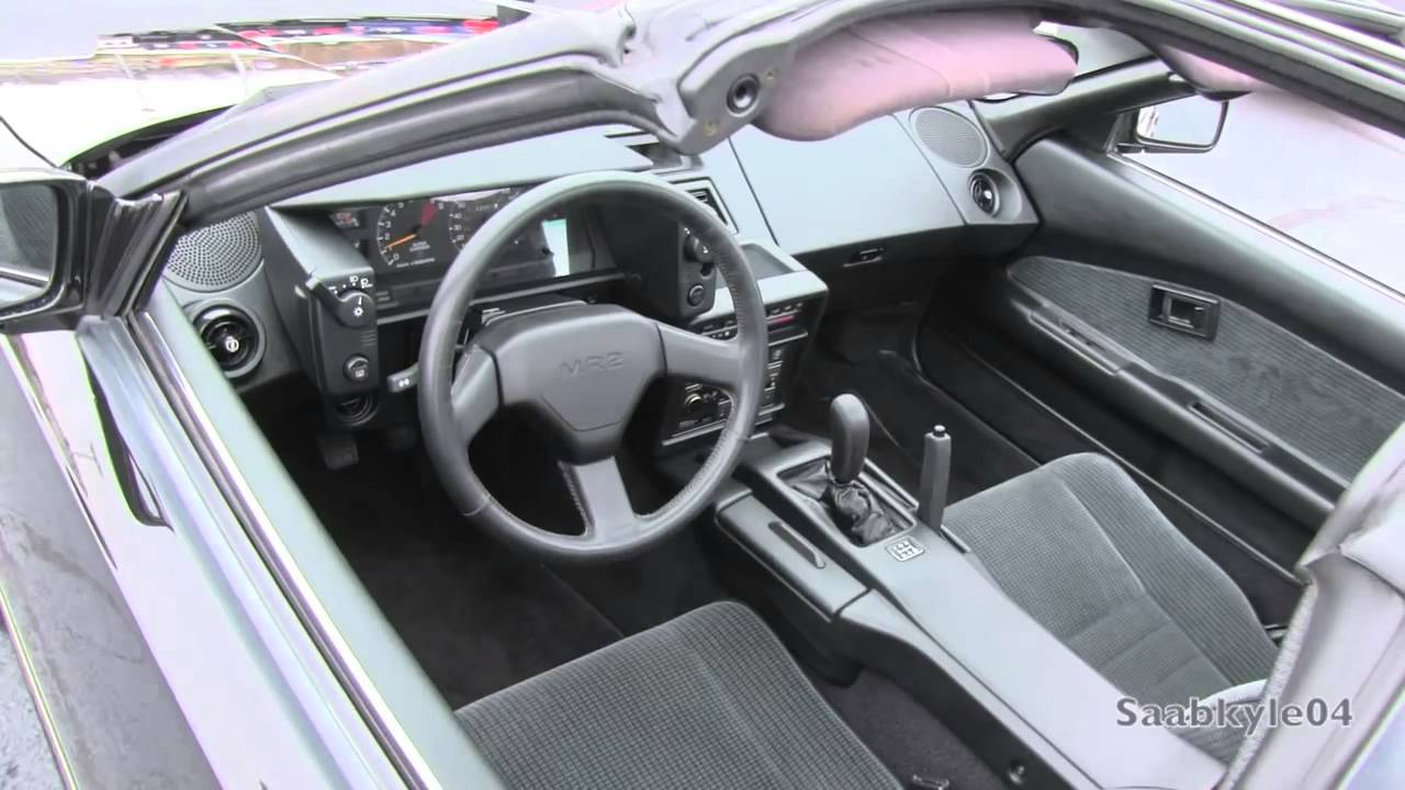 2015 1988 Toyota MR2 Supercharged MK1 AW11 Start Up, Exhaust, and In Depth  Review