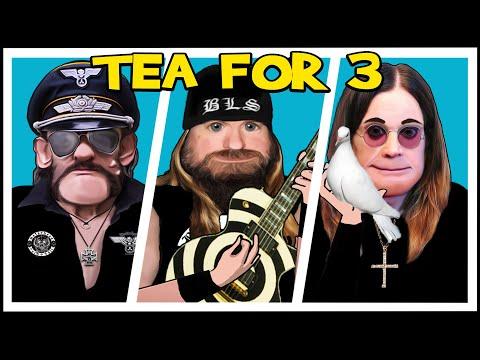 Ozzy Osbourne, Lemmy & Zakk Wylde   Tea For 3 (Animated)