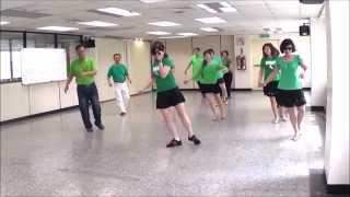 Tippy Tippy Toes - line dance (demo & walk through) = 踮腳尖/墓仔埔也敢去 - 排舞(含導跳) - 2nd