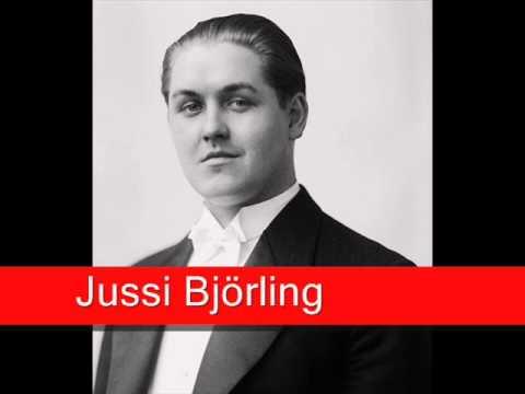 Jussi Björling: Gounod - Faust, 'Salut! Demeure chaste'