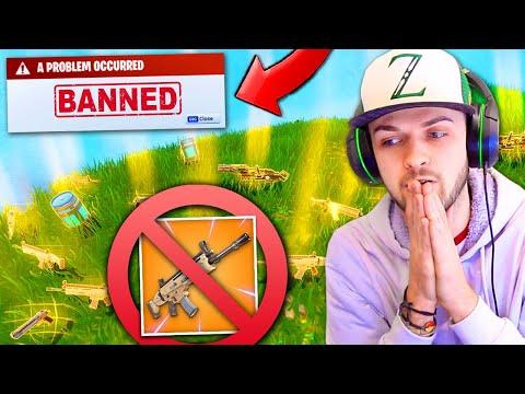 LEGENDARY GUNS *REMOVED* from Fortnite: Battle Royale!