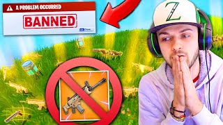 LEGENDARY GUNS *REMOVED* from Fortnite: Battle Royale!