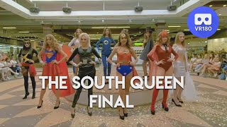 VR180 3D. Final of South Queen 2018. Cosplay
