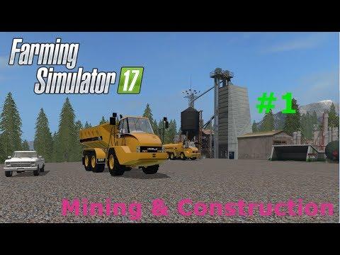 Mining & Construction map #1 - It starts