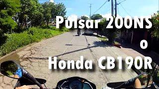 Pulsar 200NS o Honda CB190R // VLOG