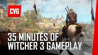 The Witcher 3: Wild Hunt 35min gameplay demo - Developer Commentary
