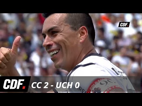 Colo Colo 2 - 0 U. de Chile Apertura 2015/2016