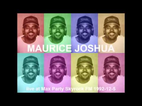 Maurice Joshua live at Max Party - Skyrock Radio 1992-12-5