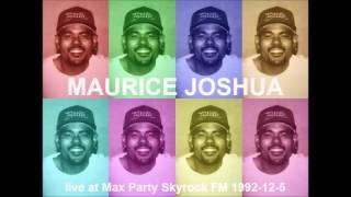 Maurice Joshua live at Max Party - Skyrock Radio 1992-12-5