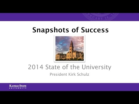 2014 State of the University | Manhattan Campus
