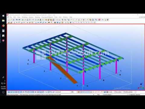 How To Print PDF In Tekla 18