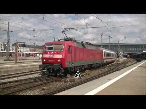 Treinen in München Hbf