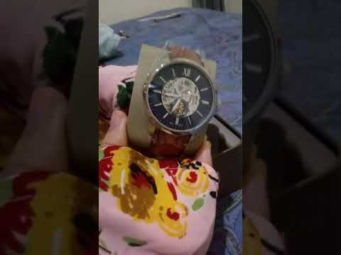 Unboxing Original Fossil Watch