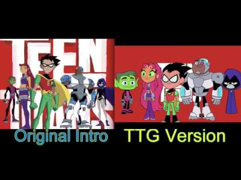 Teen Titans Intro Comparison (Original + TTG Version by ABSW9119)