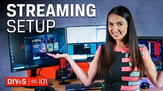 Live Streaming Tips  - All the gear you need to start live streaming from your PC - DIY in 5 Ep 101