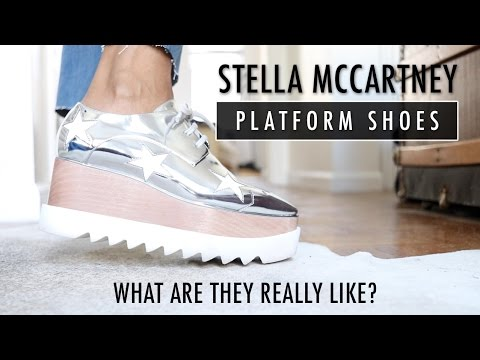 bb7fadfea8f1 Stella McCartney Platform Shoes Review - YouTube