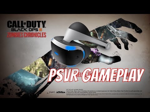 PSVR Zombie chronicles GAMEPLAY