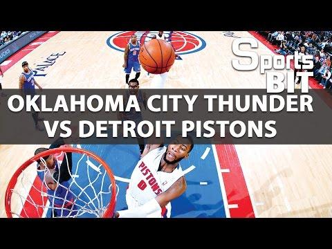 Sports BIT | Oklahoma City Thunder vs Detroit Pistons | NBA Picks