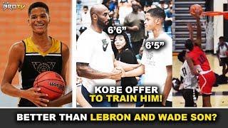 Mas Malakas pa kay Bronny James at Zaire Wade? | Gustong Turuan ni Kobe | The Shooting Guard O'neal!