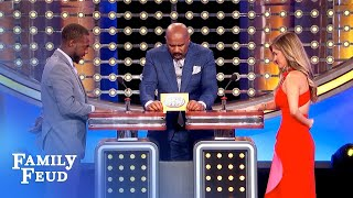 President Steve Harvey is putting THIS in the Oval Office!   Family Feud